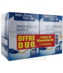 Nat&form Expert Magnésium+vitamine B6 Gélules 2*b/40 à ANNEMASSE