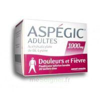 Aspegic Adultes 1000 Mg, Poudre Pour Solution Buvable En Sachet-dose 20 à ANNEMASSE