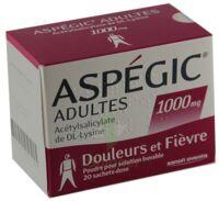 Aspegic Adultes 1000 Mg, Poudre Pour Solution Buvable En Sachet-dose 15 à ANNEMASSE
