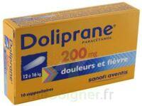 Doliprane 200 Mg Suppositoires 2plq/5 (10) à ANNEMASSE