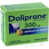 Doliprane 300 Mg Poudre Pour Solution Buvable En Sachet-dose B/12 à ANNEMASSE