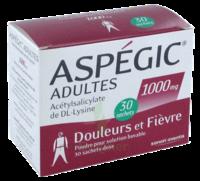 Aspegic Adultes 1000 Mg, Poudre Pour Solution Buvable En Sachet-dose 30 à ANNEMASSE