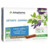 Arkofluide Bio Ultraextract Solution Buvable Détente Sommeil 20 Ampoules/10ml à ANNEMASSE