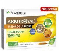 Arkoroyal Gelée Royale Bio Sans Sucre 1500mg Solution Buvable 20 Ampoules/10ml à ANNEMASSE