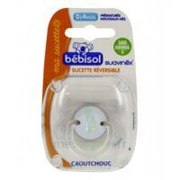 Bebisol Sucette Physilogique Caoutchouc 0-4 Mois à ANNEMASSE