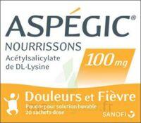 Aspegic Nourrissons 100 Mg, Poudre Pour Solution Buvable En Sachet-dose à ANNEMASSE