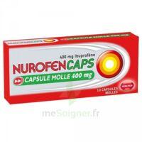 Nurofencaps 400 Mg Caps Molle Plq/10 à ANNEMASSE