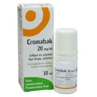 Cromabak 20 Mg/ml, Collyre En Solution à ANNEMASSE