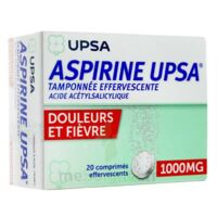 Aspirine Upsa Tamponnee Effervescente 1000 Mg, Comprimé Effervescent à ANNEMASSE