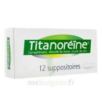 Titanoreine Suppositoires B/12 à ANNEMASSE