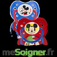 Dodie Disney Sucette Anatomique Silicone +6mois Mickey Lot/2 à ANNEMASSE