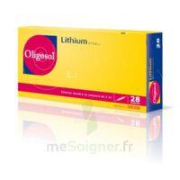 Oligosol Lithium Solution Buvable En Ampoule Ou En Récipient Unidose 28amp/2ml à ANNEMASSE