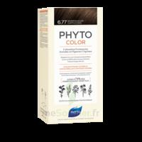 Phytocolor Kit Coloration Permanente 6.77 Marron Clair Cappuccino à ANNEMASSE