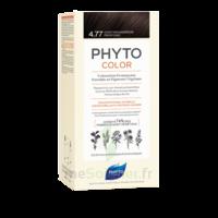 Phytocolor Kit Coloration Permanente 4.77 Châtain Marron Profond à ANNEMASSE