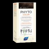 Phytocolor Kit Coloration Permanente 5.7 Châtain Clair Marron à ANNEMASSE