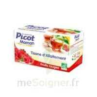 Picot Maman Tisane D'allaitement Fruits Rouges 20 Sachets à ANNEMASSE