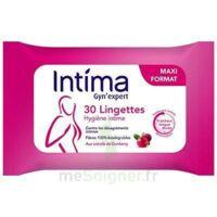 Intima Gyn'expert Lingettes Cranberry Paquet/30 à ANNEMASSE