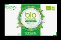 Nutrisanté Infusions Bio Thé Vert Menthe 20 Sachets à ANNEMASSE