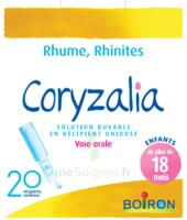 Boiron Coryzalia Solution Buvable Unidose B/20 à ANNEMASSE