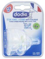 Dodie Initiation+ Tétine 3vitesses Débit4 Silicone Liquide épais B/2 à ANNEMASSE