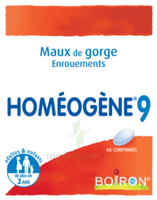 Boiron Homéogène 9 Comprimés à ANNEMASSE