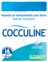 Boiron Cocculine Comprimés Orodispersibles B/40 à ANNEMASSE