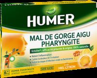 Humer Pharyngite Pastille Mal De Gorge Miel Citron B/20 à ANNEMASSE